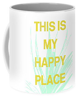 This Is My Happy Place- Art By Linda Woods Coffee Mug