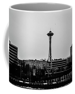 This Is Seattle Black And White Coffee Mug