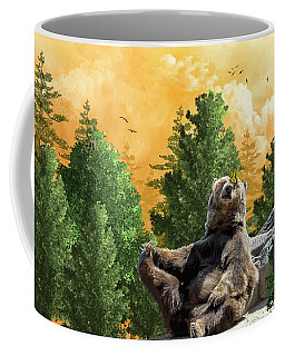 This Little Piggy Went To Market Coffee Mug by Diane Schuster
