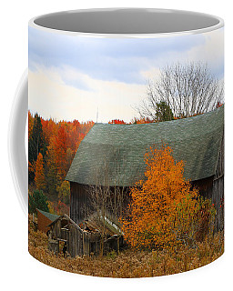 Coffee Mug featuring the photograph This Old Barn by Rick Morgan