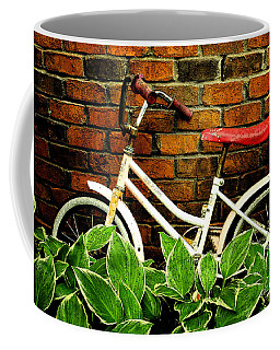 This Old Bicycle Coffee Mug by James C Thomas