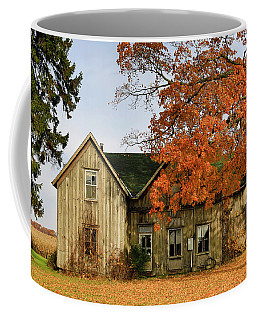 Coffee Mug featuring the photograph This Old House by Gary Hall