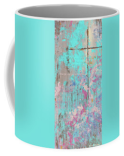 Coffee Mug featuring the painting This Side Of The Cross by Karen Kennedy Chatham