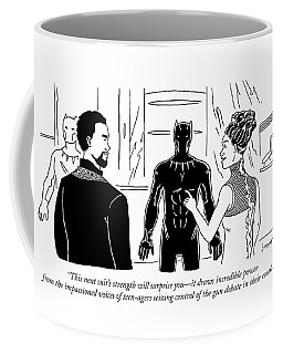 This Suits Strength Will Surprise You Coffee Mug