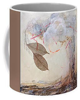 Coffee Mug featuring the mixed media This Time He Said I Love You In Such A Different Way  by Delona Seserman