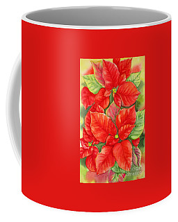 This Year's Poinsettia 1 Coffee Mug by Inese Poga
