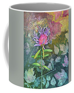 Thistle Coffee Mug by Nancy Jolley