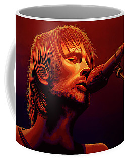 Thom Yorke Of Radiohead Coffee Mug
