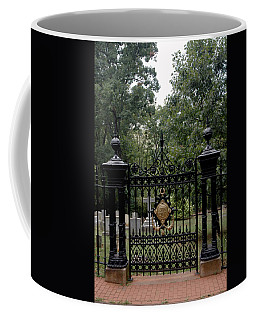 Thomas Jefferson Grave Site Monticello Coffee Mug