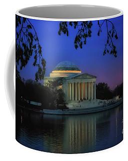 Thomas Jefferson Memorial Sunset Coffee Mug