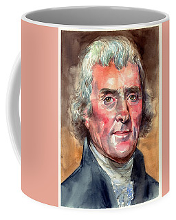 Thomas Jefferson Portrait Coffee Mug