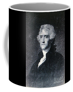 Thomas Jefferson Coffee Mug by Richard W Linford