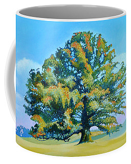 Thomas Jefferson's White Oak Tree On The Way To James Madison's For Afternoon Tea Coffee Mug