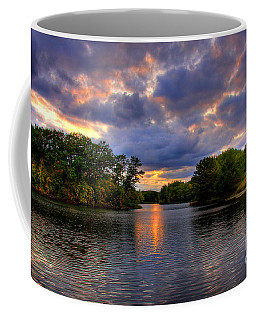 Thomas Lake Park In Eagan On A Glorious Summer Evening Coffee Mug