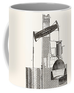 Thomas Newcomen S Atmospheric Steam Coffee Mug