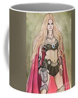 Thor Coffee Mug by Jimmy Adams