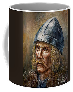 Thorfinn Karlsefni Coffee Mug by Arturas Slapsys