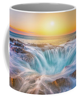 Coffee Mug featuring the photograph Thor's Light by Darren White