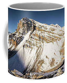 Thorung La Pass In The Annapurna Range In The Himalayas In Nepal Coffee Mug