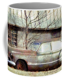Coffee Mug featuring the photograph Those Were The Days - 49 Buick Roadmaster by Janine Riley