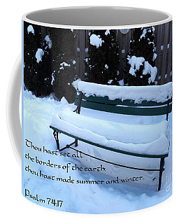 Thou Hast Set All The Borders Of The Earth Coffee Mug