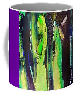 Thoughtful Gathering Coffee Mug by Kicking Bear Productions