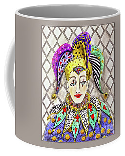 Thoughtful Jester Coffee Mug