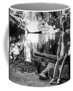Thoughts Reflected Coffee Mug