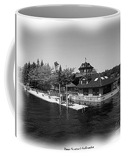 Coffee Mug featuring the photograph Thousand Islands In Black And White by Rose Santuci-Sofranko