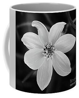 Threadleaf In Black And White Coffee Mug