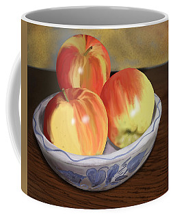 Three Apples Coffee Mug