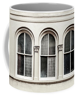 Three Arched Windows Coffee Mug