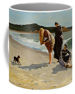Three Bathers Coffee Mug by  Newwwman