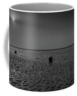 Coffee Mug featuring the photograph Three Buoys by Keith Elliott