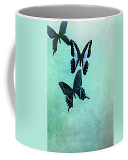 Three Butterflies Coffee Mug