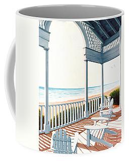 Adirondacks By The Sea - Prints From Original Oil Painting Coffee Mug