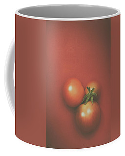 Three Cherry Tomatoes Coffee Mug