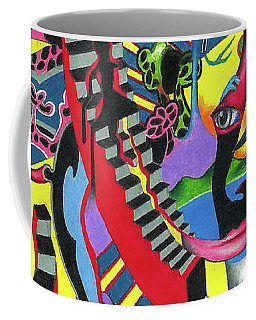 Three Disguises Of An Abstract Thought Coffee Mug