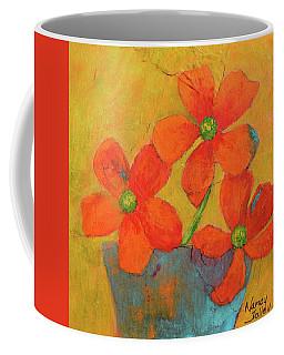 Three Flowers Coffee Mug