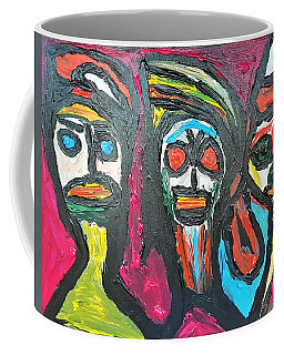 Three Genies 3 Wishes Coffee Mug