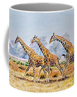 Three Giraffes Coffee Mug