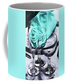 Three Glass Illusion Coffee Mug