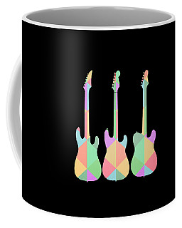 Three Guitars Triangles Tee Coffee Mug