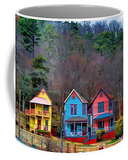 Three Houses Hot Springs Ar Coffee Mug