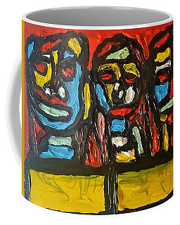 Three In Focus Coffee Mug