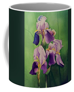Three Iris Coffee Mug