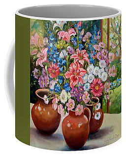 Three Jars Coffee Mug by Alexandra Maria Ethlyn Cheshire