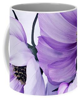 Three Lavender Cosmos Coffee Mug