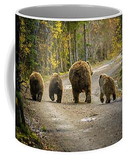 Three Little Bears And Mama Coffee Mug