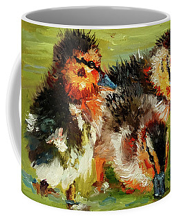 Three Little Ducks Coffee Mug